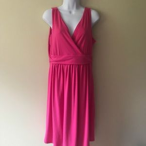 Old Navy maternity dress pink medium sundress.